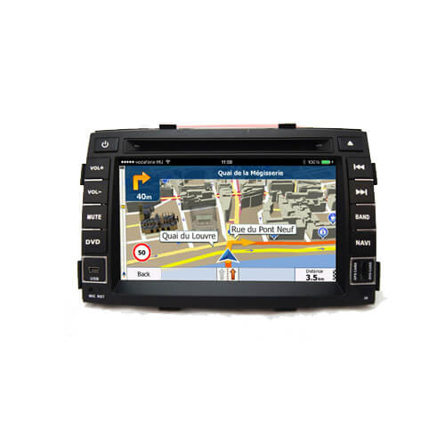 Kia Sorento R 2010 2012 Car DVD With Navigation