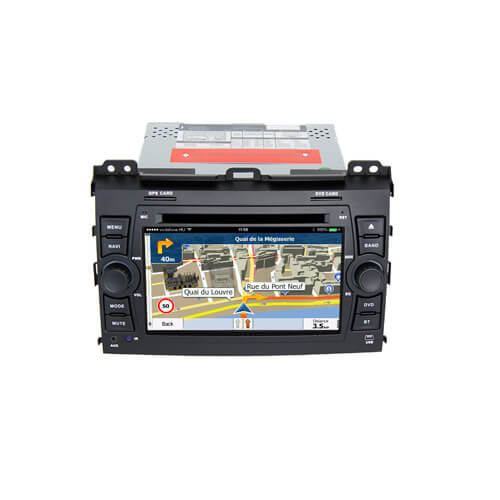 Toyota Prado 2002-2009 Double Din Touch Screen Radio