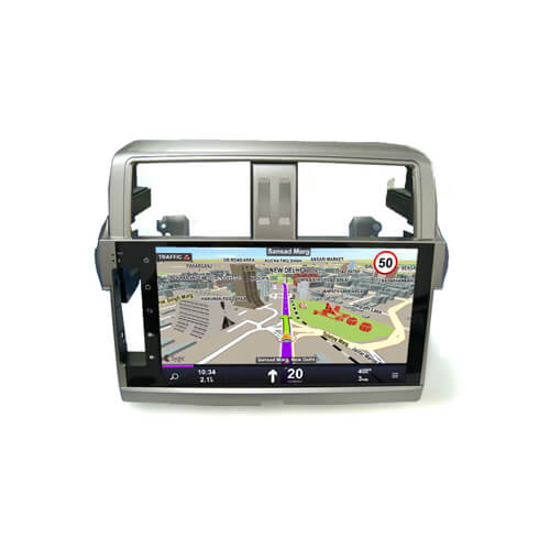 Toyota Prado 2013 Car Stereo With Android GPS Navigation